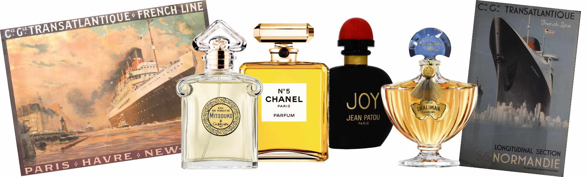 Parfums de traversée & Portraits de paquebots